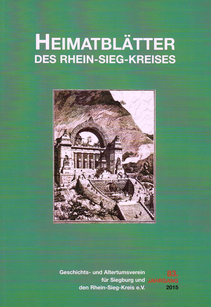 Cover Heimatblätter des Rhein-Sieg-Kreises 2015